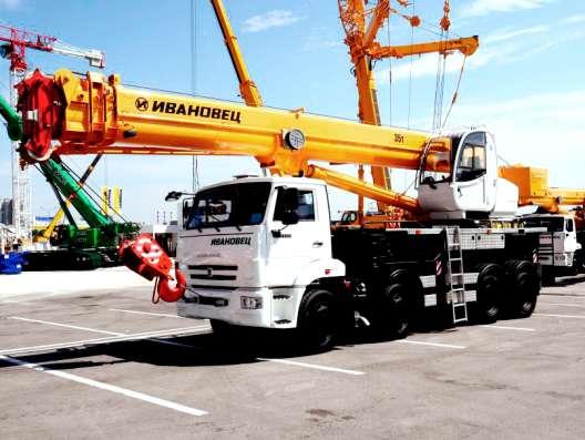 Аренда автокрана 40 тонн 30 метров