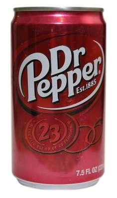DR. PEPPER (ДОКТОР ПЕППЕР) В ЖЕСТЯНОЙ БАНКЕ, США