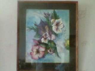 """акварель """"цветы"""""""