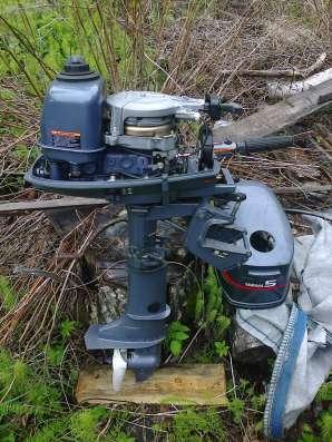 Лодочный мотор YAMAHA 5 CMHS