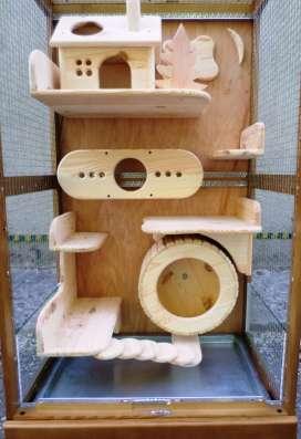 Витрина-клетка для содержания шиншилл, дегу, кроликов в Белгороде Фото 2
