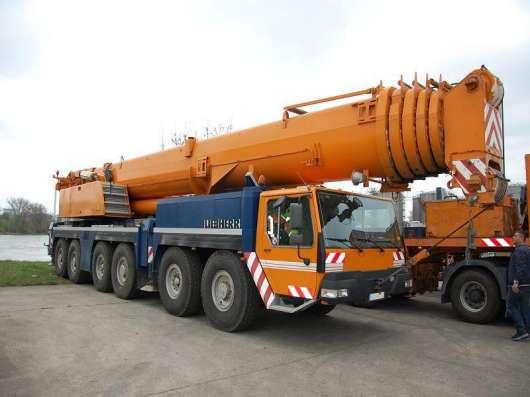 Аренда автокрана 250 тонн 72(142) метров Liebherr LTM 1250