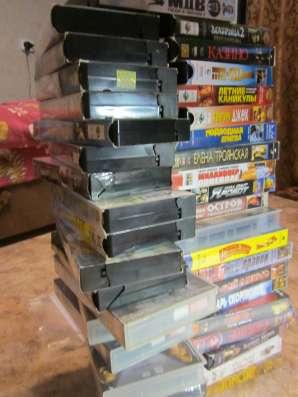 Касеты для видеомагнитофона (VHS) в отличном состоянии.