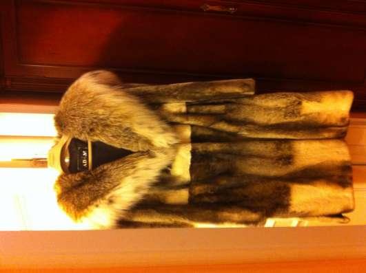 шуба норковая с капюшоном рысь 46-48 р новая светлая срочно