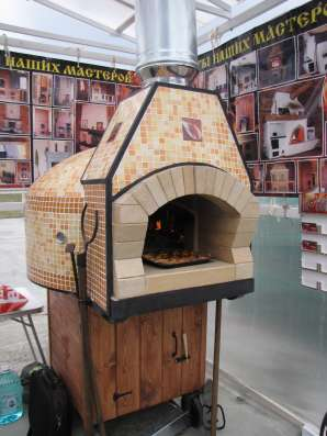 Продам купольную (помпейскую) печь для пиццы.