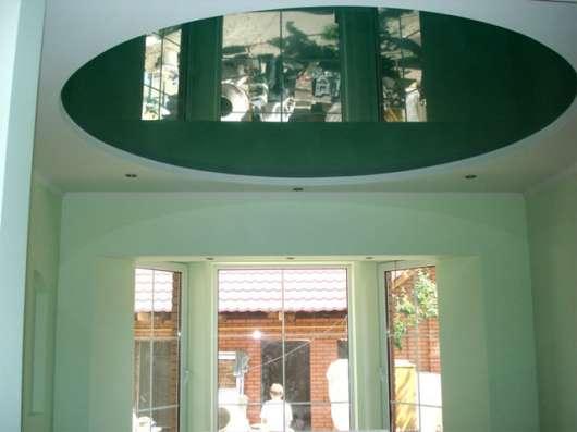 Матовый натяжной потолок в кухню всего за 3 тыс. р в Саратове Фото 1