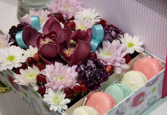 Шоколадно-цветочный мастер-класс!