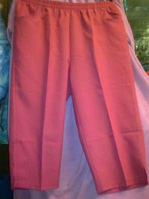 Новые красные брюки капри по журналу WITT
