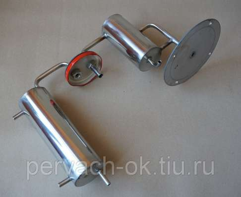 Самогонный аппарат Иваныч 13 л с двумя сухопарниками