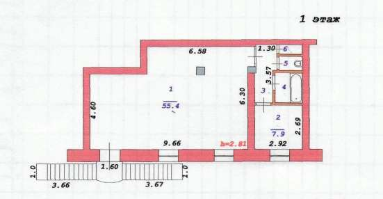 сдам магазин 74 м²  в самом центре ул К-Маркса