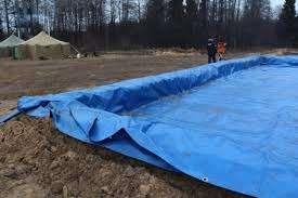 Тарпаулиновый водонепроницаемый тент в Екатеринбурге Фото 2
