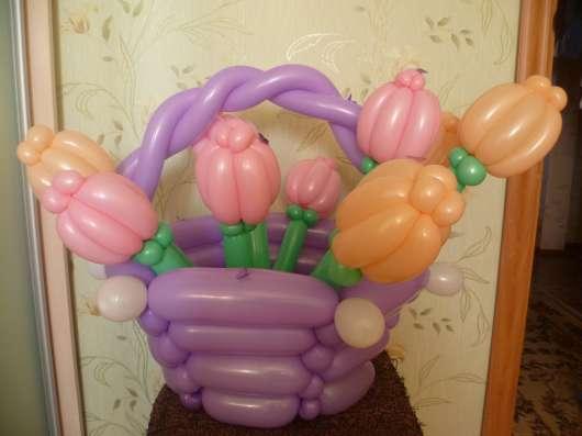Композиции из воздушных шаров в Екатеринбурге Фото 1