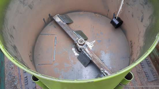 Миксер для смешивания резиновой крошки БАРК-60-1 в г. Киев Фото 2