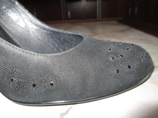 Продаю женские чёрные туфли немецкой фирмы Mascotte, р. 38 в Краснодаре Фото 2
