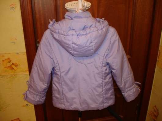 Куртка демисезонная а девочку