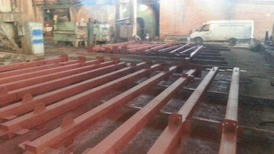 Красноярский завод металлоконструкций, производство, метал Фото 2