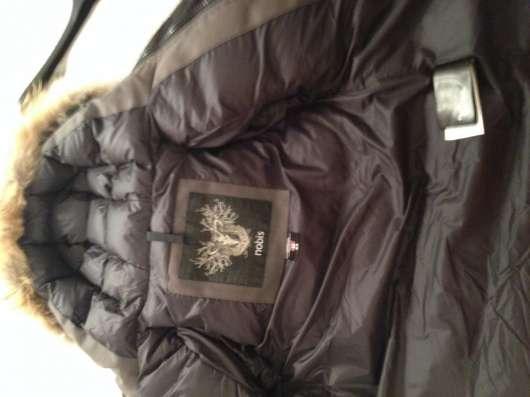 Настоящий Канадский пуховик цв. темн.зел. NOBIS XS 3-6лет в Москве Фото 1