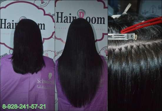 Обучение наращиванию волос!