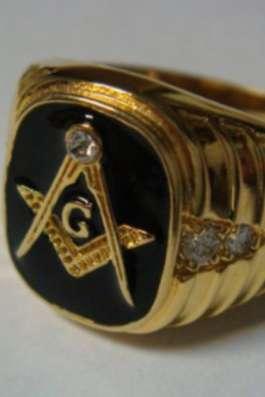 Масонский перстень с символикой США