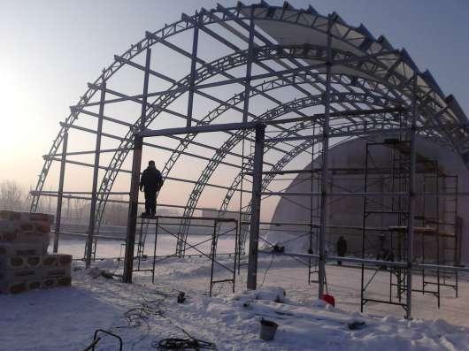 Производство и строительство арочных ангаров