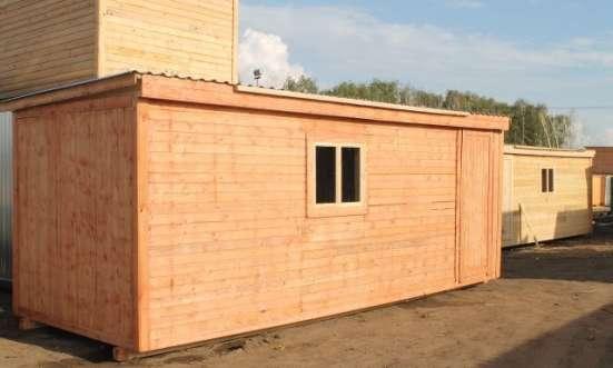 Бытовка (блок-контейнер) строительная в Москве Фото 2