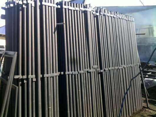 столбы металлические для забора с доставкой