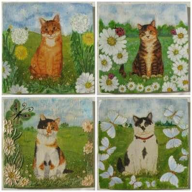 Панно с кошками в Кемерове Фото 2
