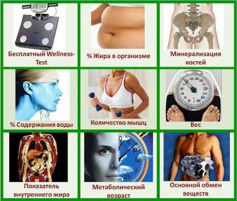 Welness-тест организма - узнаете состав тела, чтоб худеть