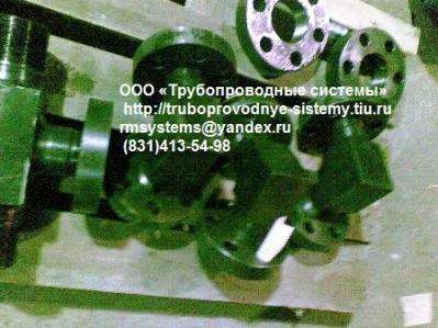 Угольник фланцевый ГОСТ 22799-83Ру до 100 МПа