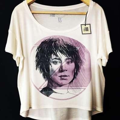 женская футболка с принтом ЗЕМФИРА