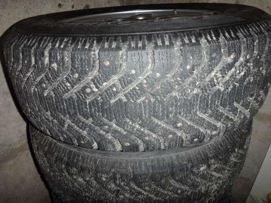 Комплект зимней резины на дисках