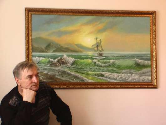 Картина маслом. Красивые пейзажи в наличии. в Омске Фото 5