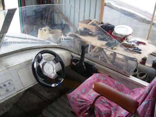 Мотолодка ОБЬ-3 + мотор Tohatsu 40
