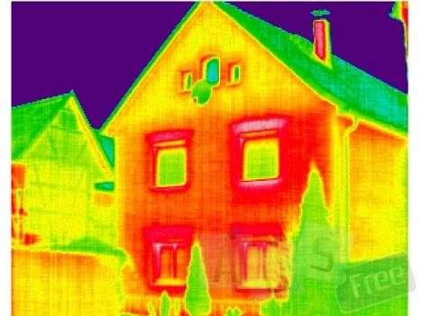Тепловизионная диагностика состояния жилья в г. Мариинск Фото 4