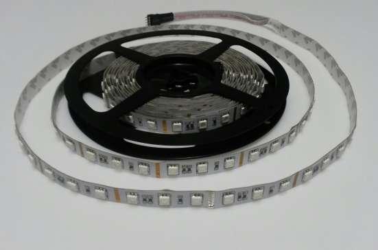 Светодиодная лента SMD5050 14,4W 12V белая хол
