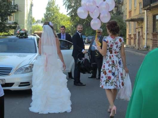 Шикарное свадебное платье в Санкт-Петербурге Фото 1