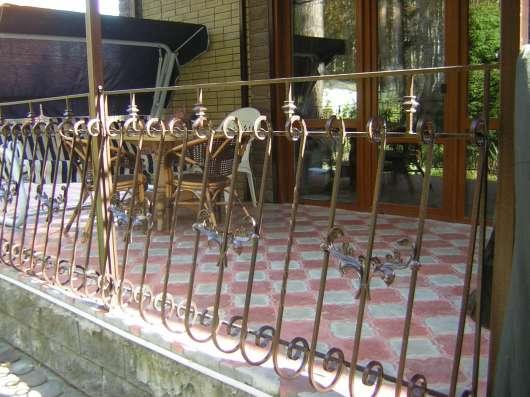 Элементы художественной ковки в Новосибирске Фото 1