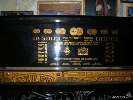 """Продам пианино """"ED.SEILER"""" в Новосибирске Фото 2"""