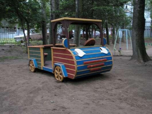 Деревянные домики и машины для детей в Подольске Фото 2