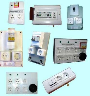 Электрощитки для медицинских кабинетов и отделений.