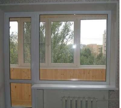 Остекление пвх, алюм, отделка балконов, Окна двери в Балашихе Фото 2