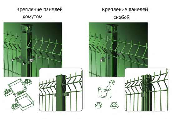 Монтаж 3D систем ограждения. Монтаж 3Д забора