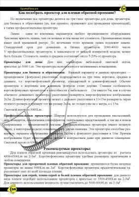 Предлагаем Плёнку Обратной Проекции во Владивостоке