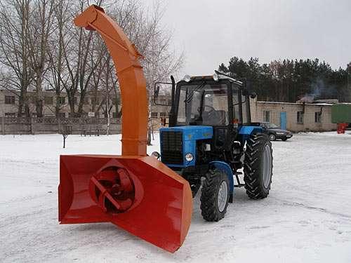 Снегоочиститель турбинный ЕМ-800-01 с гидроприводом Danfoss