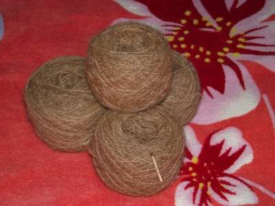 вязанные изделия из собачьей шерсти