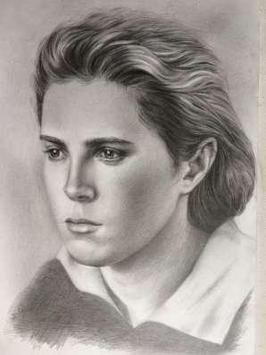 Художественный портрет по фото на заказ.
