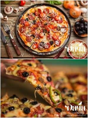 """Пицца в кафе """"Дача"""""""