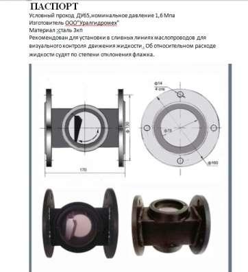 Указатели потока жидкости УП 65 ГДМТМСФ