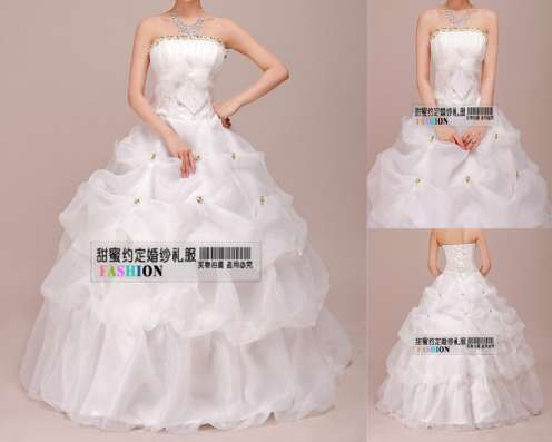 В наличии! Шикарные свадебные платья, НОВЫЕ, 4 шт. Не дорого в Ижевске Фото 1