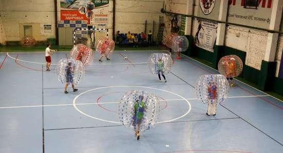 Бампербол Футбол в шарах Корпоратив День рождения в Санкт-Петербурге Фото 4